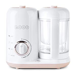 QOOC 4-in-1 Baby Food Maker Pro