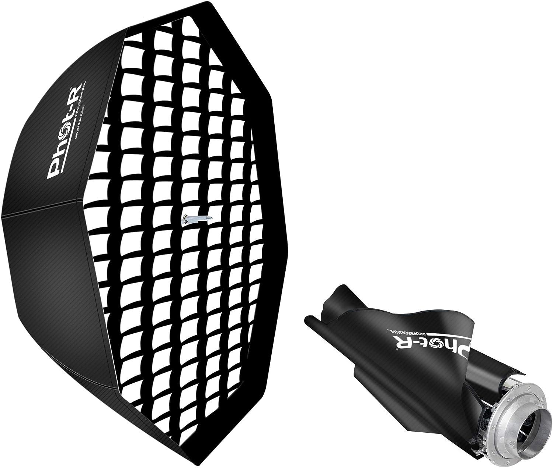 Phot R 80 Cm Foldable Umbrella Octabox Softbox Bowens S Camera Photo