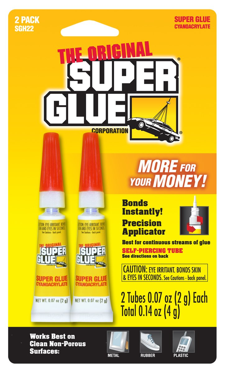 Super Glue Super Glue SGM22J-12 2-Gram Tubes, 24-Pack(Pack of 24)
