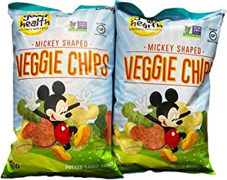 product image for Disney Mickey Mouse Shaped Veggie Chips Children's Healthy Snacks 6.75 Oz (2)