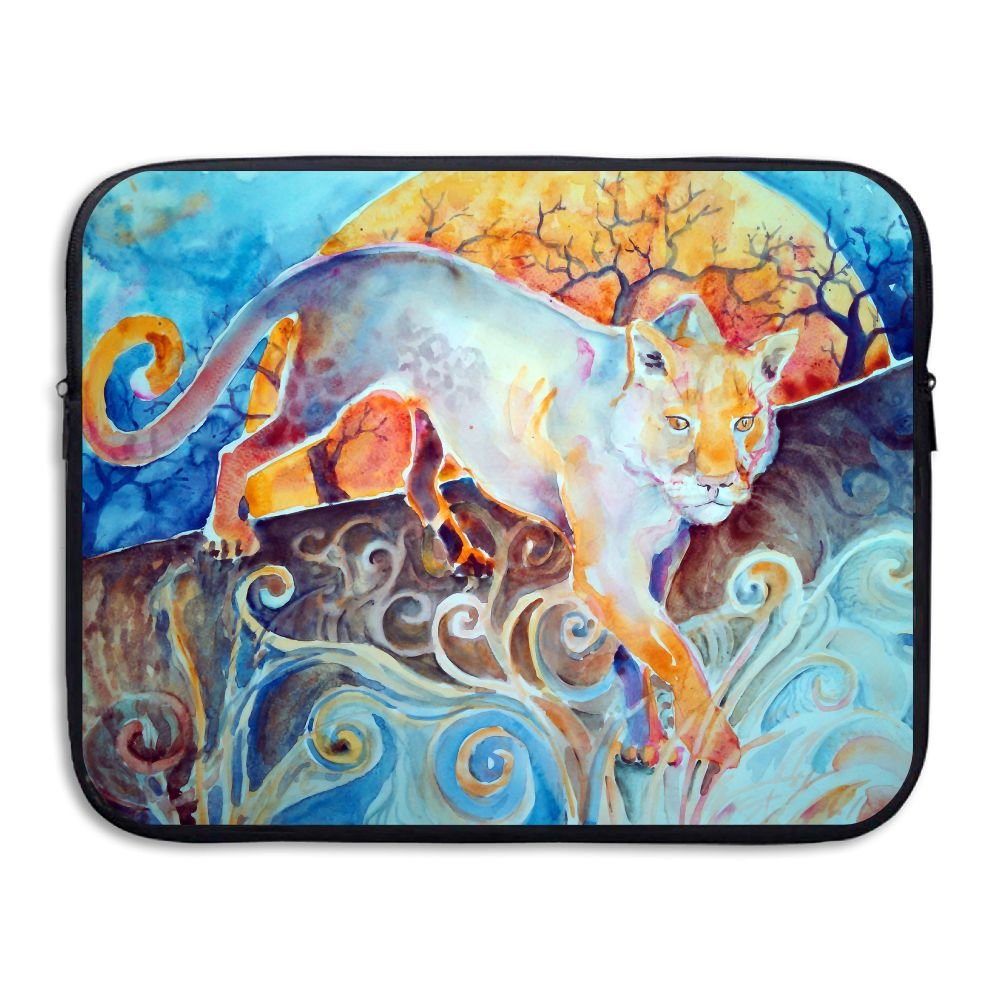 Ministoeb Sun Panther Painting Love Laptop Storage Bag - Portable Waterproof Laptop Case Briefcase Sleeve Bags Cover