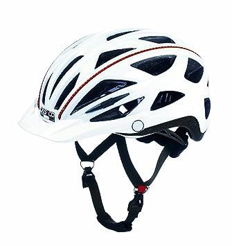 Casco Activ-TC urbano de ciclismo unisex, color blanco, talla M