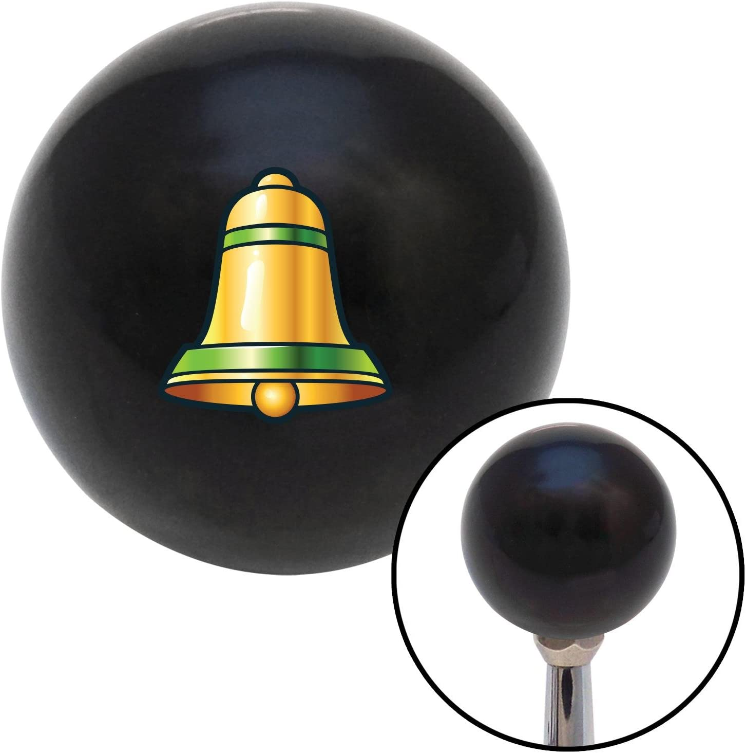 American Shifter 109532 Black Shift Knob with M16 x 1.5 Insert Bell