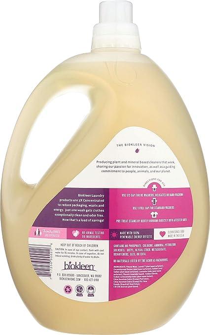 Amazon.com: Biokleen lavandería líquido, 00063 ...