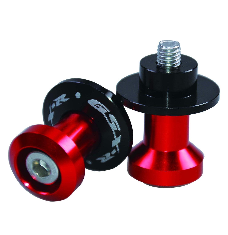 Paddock Stand Bobbins M8 Swing arm spool for Suzuki GSX-R 1000/600/750(Black) RC