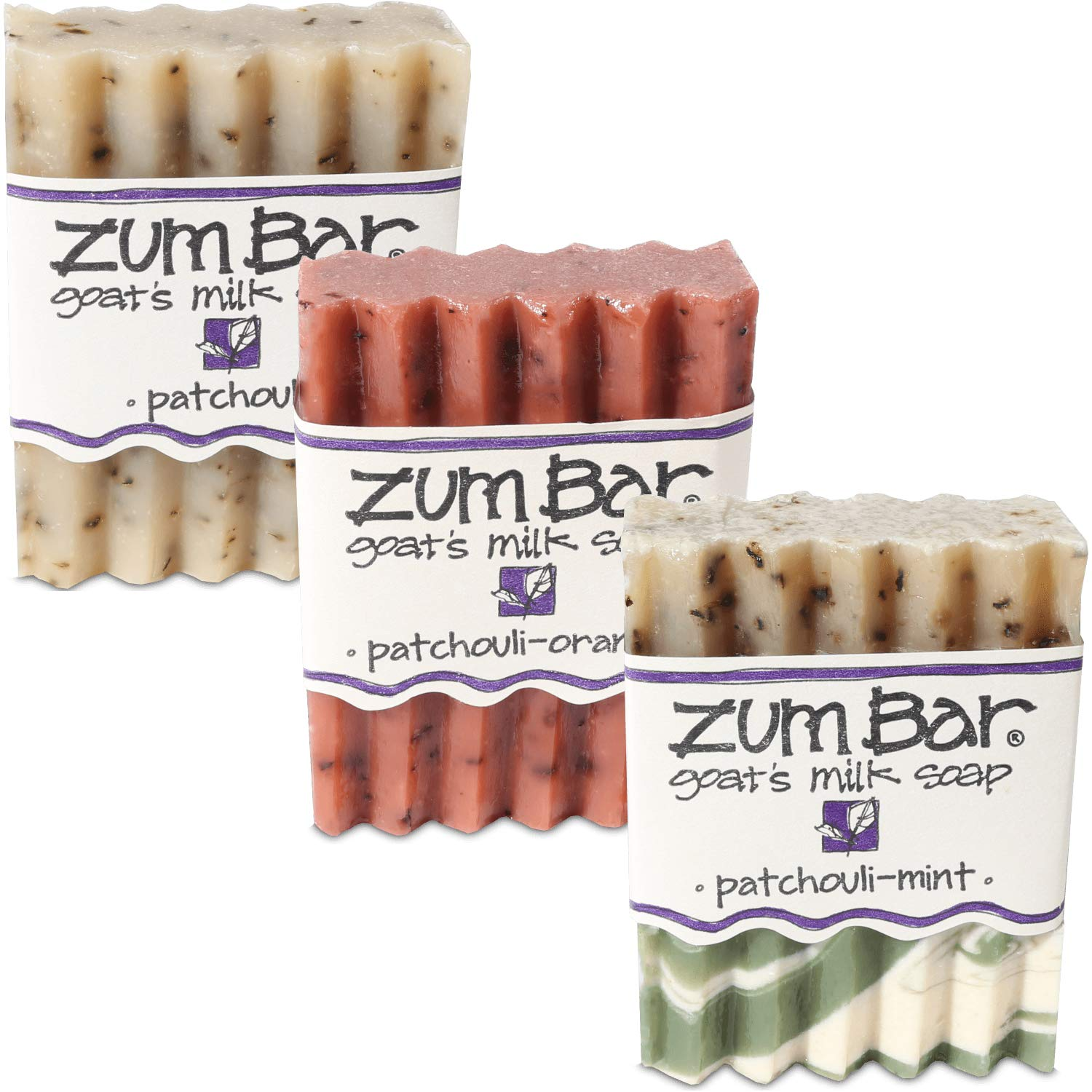 Patchouli 3 Ways Collection - Indigo Wild Zum Bar Soap