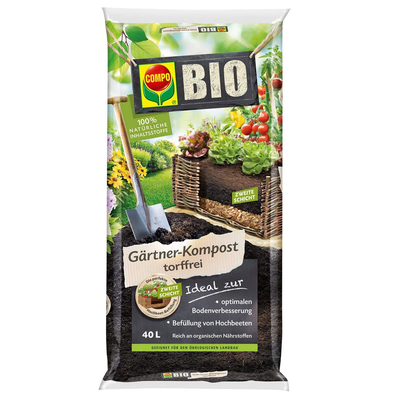 Un. Compo Bio - Compostador para jardinería (40 L): Amazon ...