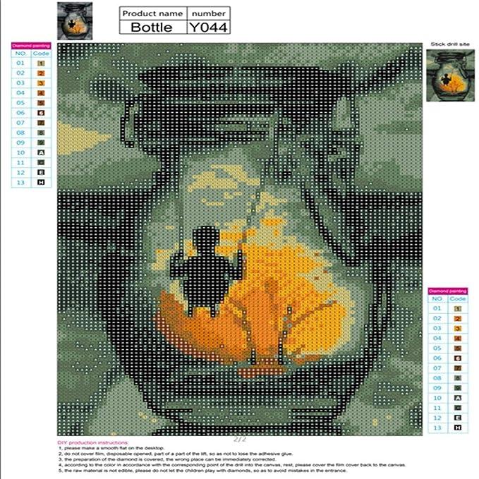 Diamant Bild 5D Stickerei Gemälde Strass eingefügt DIY Diamant ...