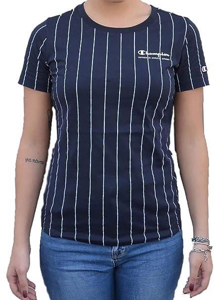 Para Reverse Shirt Weave Mujer Camiseta Crewneck Amazon T Champion YwPfY