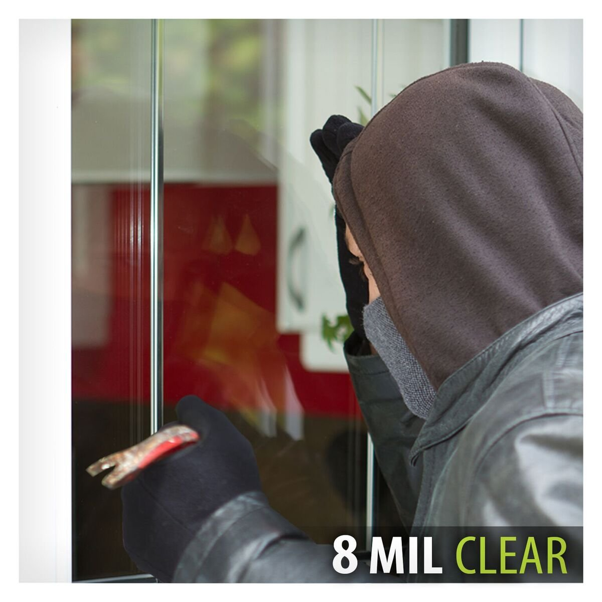 BDF S8MC Window Film Security and Safety Clear 8 Mil (30in X 12ft) by BuyDecorativeFilm() (Image #4)