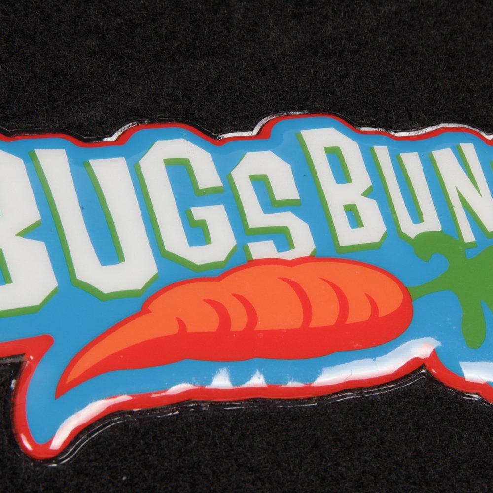 4 Piece Front Rear Set Looney Tunes Bugs Bunny Carpet Floor Mats for Car Cartoon Design Auto Accessories