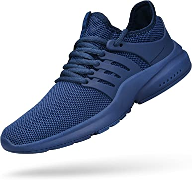 ZOCAVIA Zapatillas de correr para hombre antideslizantes de malla ligera para gimnasio deportivo deportivo de moda