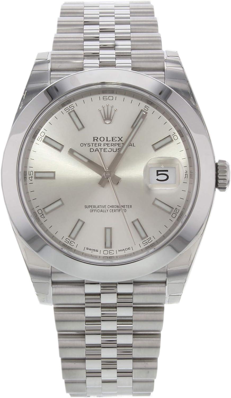 Rolex Datejust Reloj Jubilee automático de los hombres 126300SSJ