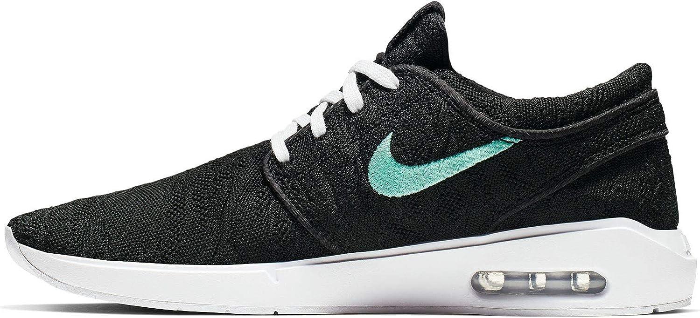 Nike Men's SB Air Max Janoski 2 Skateboarding Shoe (BlackMint Black, 10 M US)