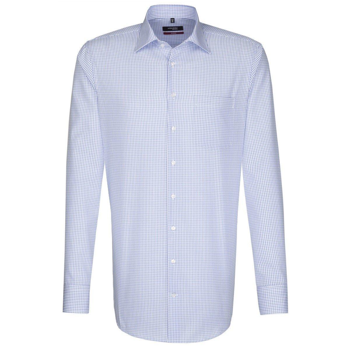 TALLA 46. Seidensticker Splendesto, Camisa de manga larga para Hombre