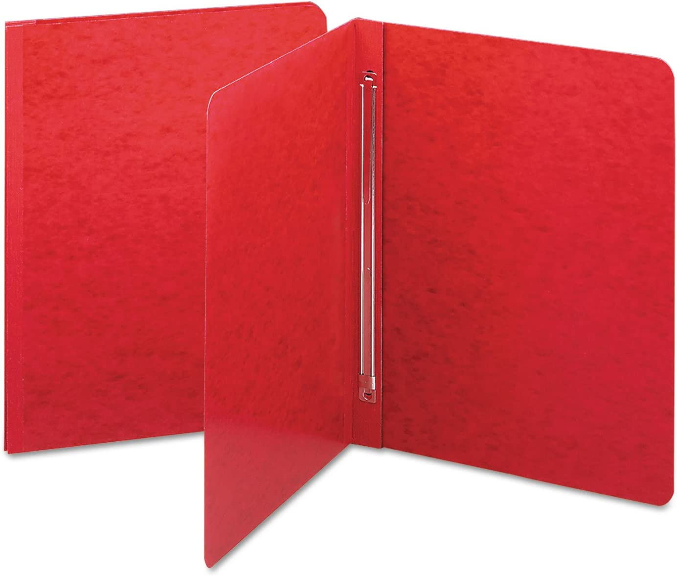 Sold As 1 Each 11 x 17 - Two-piece style cover compresses material tightly to reduce bulk Prong Fastener Side Opening PressGuard Report Cover Smead Red - PressGuard stock with an embos Ideal for monthly reports and presentations Smead Products
