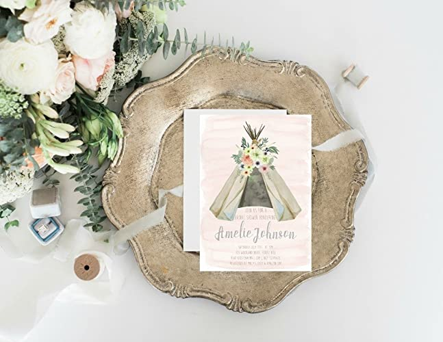 c7862cdd5c8 Image Unavailable. Image not available for. Color  Boho Bridal Shower ...