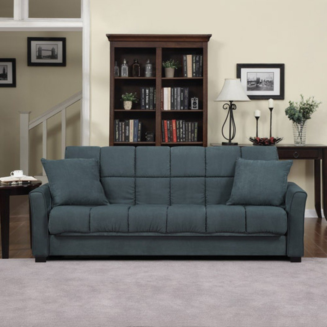 Amazon.com: Baja Convert-a-couch and Sofa Bed, Multiple Colors (Charcoal):  Kitchen & Dining
