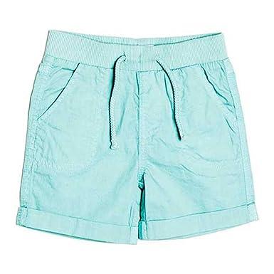4c9ebfe6f6 Minoti Boys Ice Blue Poplin Shorts: Amazon.co.uk: Clothing
