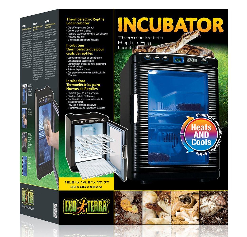 Exo Terra Inkubator - Thermoelektrischer Inkubator für Reptilien-Eier
