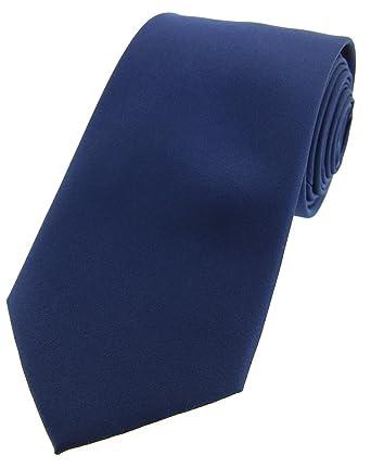 Soprano azul marino satén seda corbata: Amazon.es: Ropa y accesorios