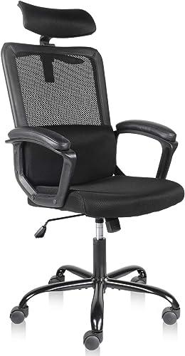 Smugdesk Office Chair High Back Mesh Desk Office Chair