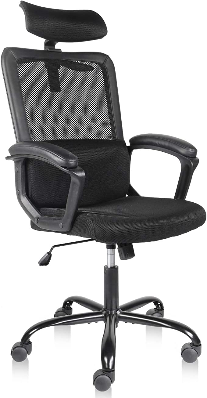 Smugdesk High Back Ergonomic Mesh Desk Office Chair