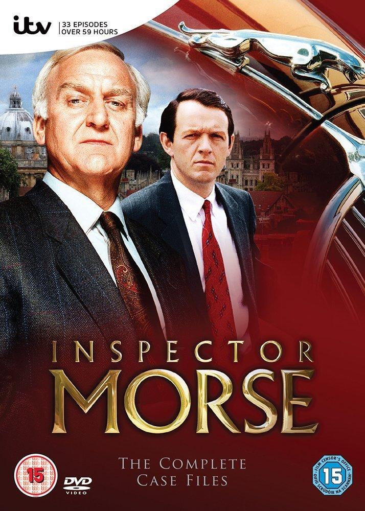 Inspector Morse: Complete Series Region 2 NOT USA FORMAT