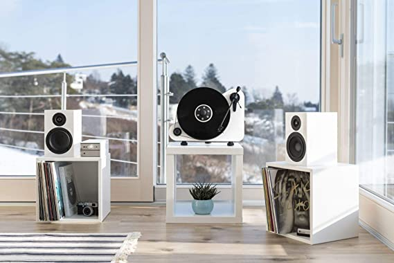Pro Ject Vt E R Bt Vertikaler Plug Play Plattenspieler Mit Bluetooth Rechtshänder Schwarz Audio Hifi