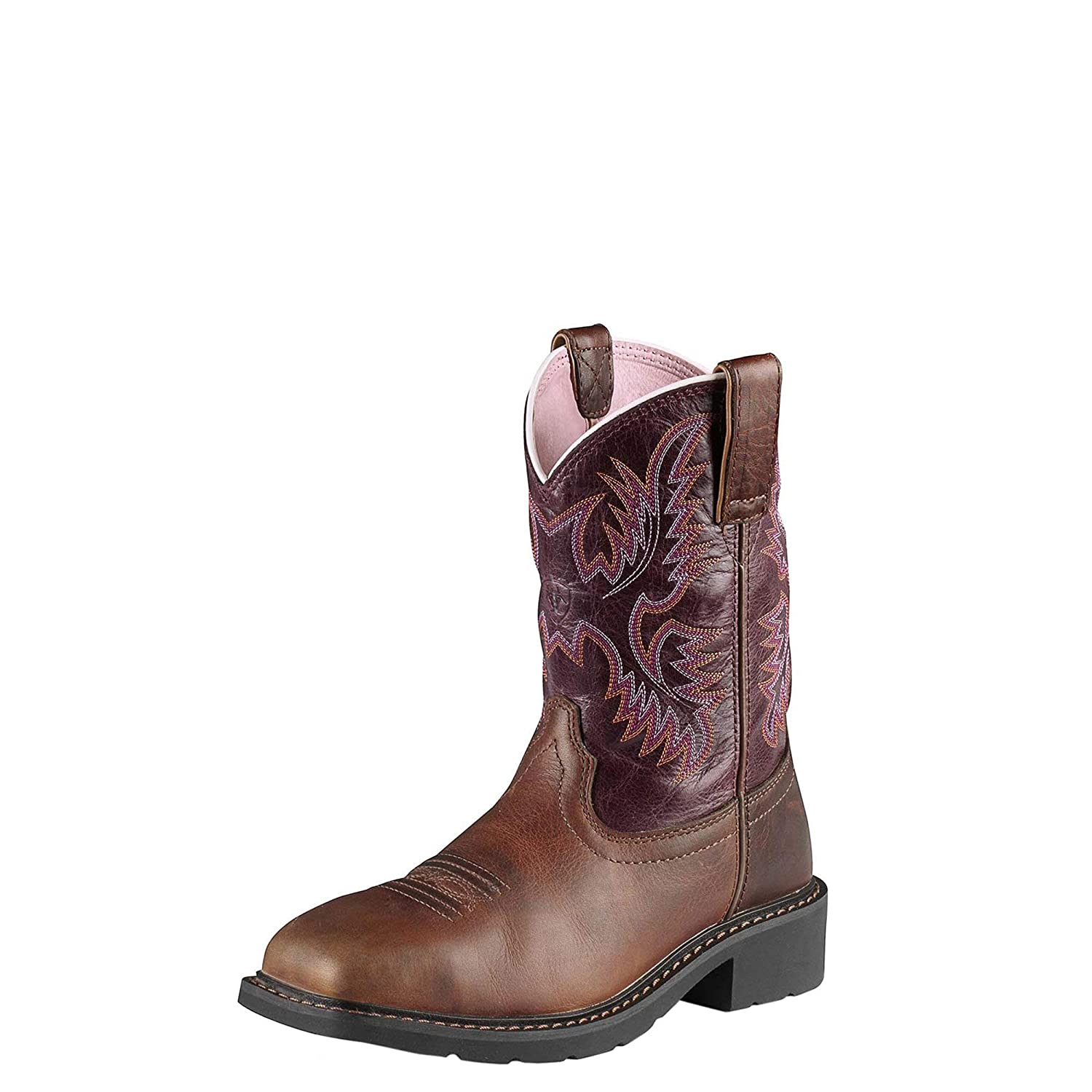 good texture fresh styles best price Ariat Women's Krista Pull-on Steel Toe Western Cowboy Boot