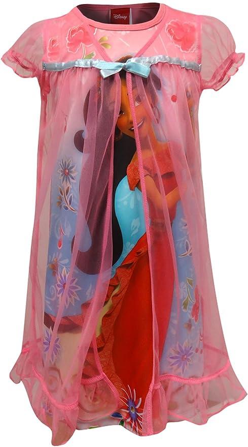 Laura Dare Little Girls Fuchsia Pink Bowtastic Nightgown w Scrunchie