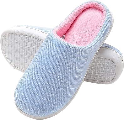 Zapatillas de Casa de Hombre - Zapatillas Casa Ultraligero Cómodo y Antideslizante Invierno, Zapatilla de Estar por Casa para Hombre Fluff Antideslizantes: Amazon.es: Zapatos y complementos