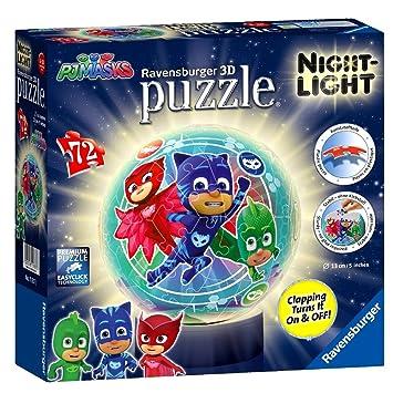 Puzzles & Geduldspiele Pj Masks Pyjama Helden 3D Puzzle Ravensburger Wie Neu