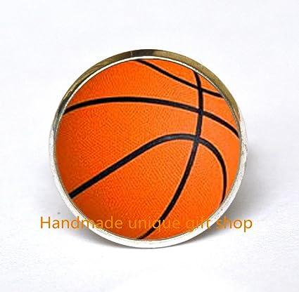 Amazoncom Fashion Ring Charm Ring Dainty Ringbasketball
