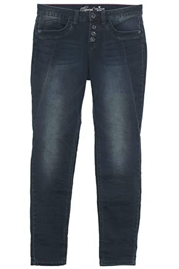 TOM TAILOR Tapered Jeans Hose Pants Damen Relaxed Fit
