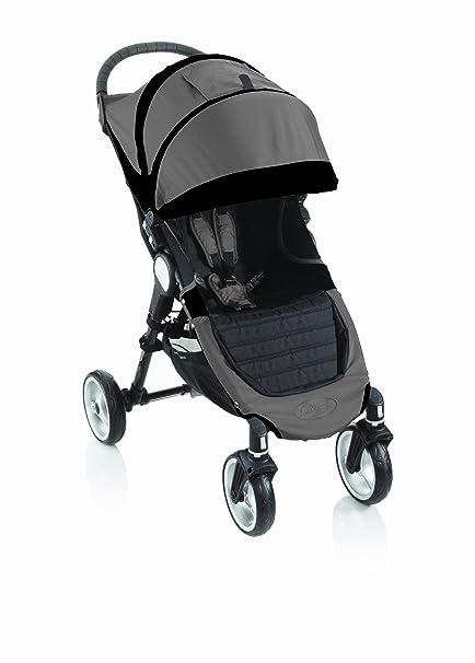 Baby Jogger City Mini única 4 ruedas negro piedra: Amazon.es ...