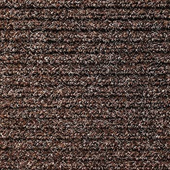 House, Home And More Heavy Duty Ribbed Indoor/Outdoor Carpet With Rubber  Marine Backing   Tuscan Brown 6u0027 X 10u0027   Several Carpet Flooring For Patio,  Porch, ...