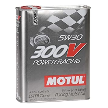 Motul 300V Power Racing 5W30 2 litros aceite de motor: Amazon.es: Coche y moto