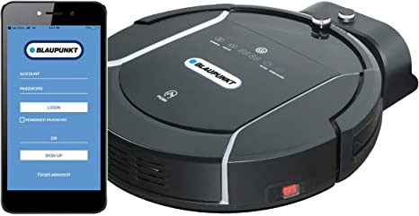 BLAUPUNKT Robot Aspirador y Fregasuelos Bluebot XSMART   Control por APP, Bluetooth, Alexa, Google Home   Mapeo Limpieza Inteligente   0,5 Litros, 60 dB, 180 metros²/hora: Amazon.es: Hogar