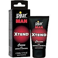 pjur MAN XTEND Cream - Crema de erección para hombres que desean más - con extracto de ginkgo y gingseng para prolongar…
