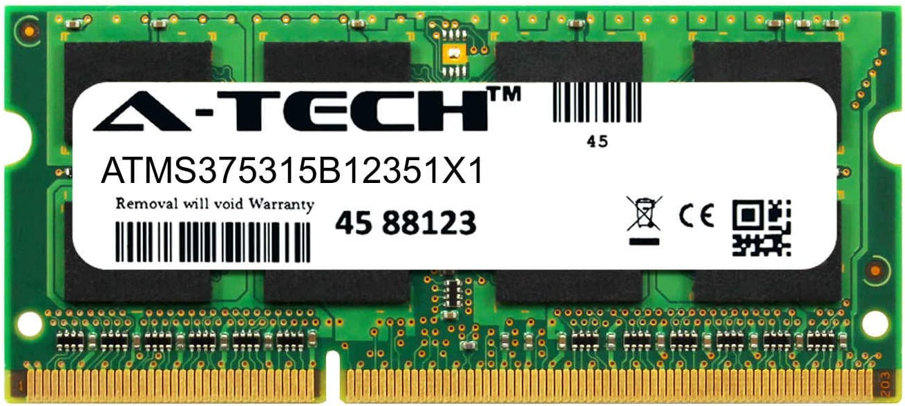 A-Tech 8GB Module for HP 15-f222wm Laptop & Notebook Compatible DDR3/DDR3L PC3-12800 1600Mhz Memory Ram (ATMS375315B12351X1)