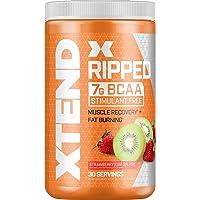 XTEND Ripped BCAA Powder Strawberry Kiwi | Cutting Formula + Sugar Free Post Workout...