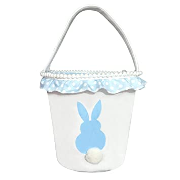 Functional Bags Egg Basket Rabbit Decoration Handbag Candy Home Decor Storage Easter Bunny Flower Gift Kids Cute Toy Party Supplies