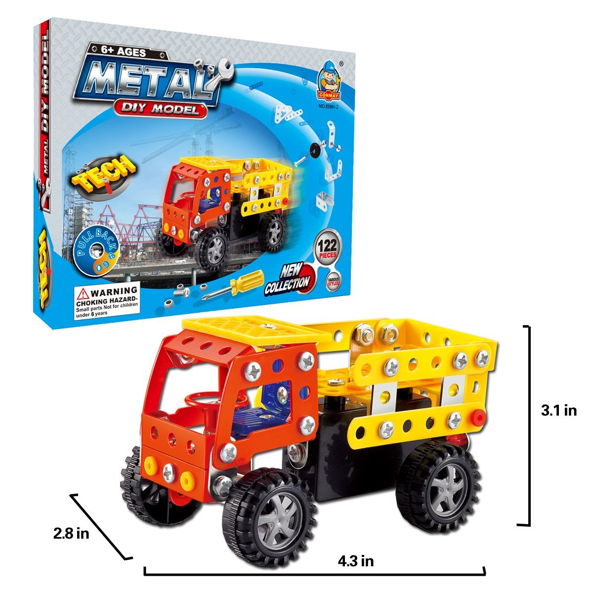 Amazon Com Come2look 122 Piece Stem Toys Kit Educational
