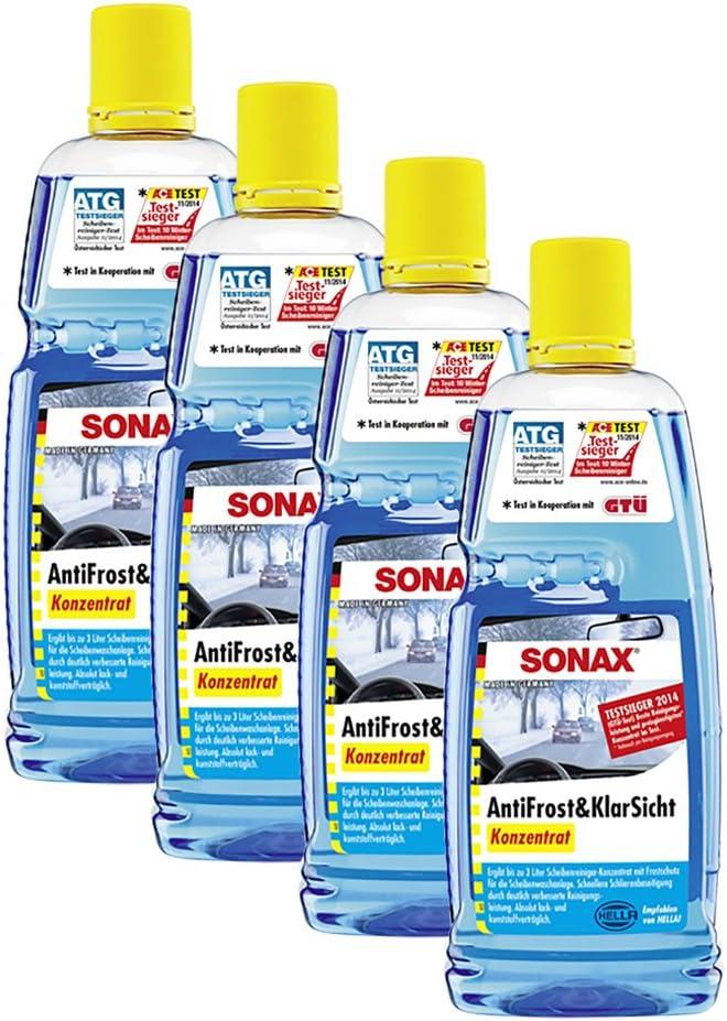 Sonax 4x 03323000 Antifrost Klarsicht Konzentrat 1l Auto