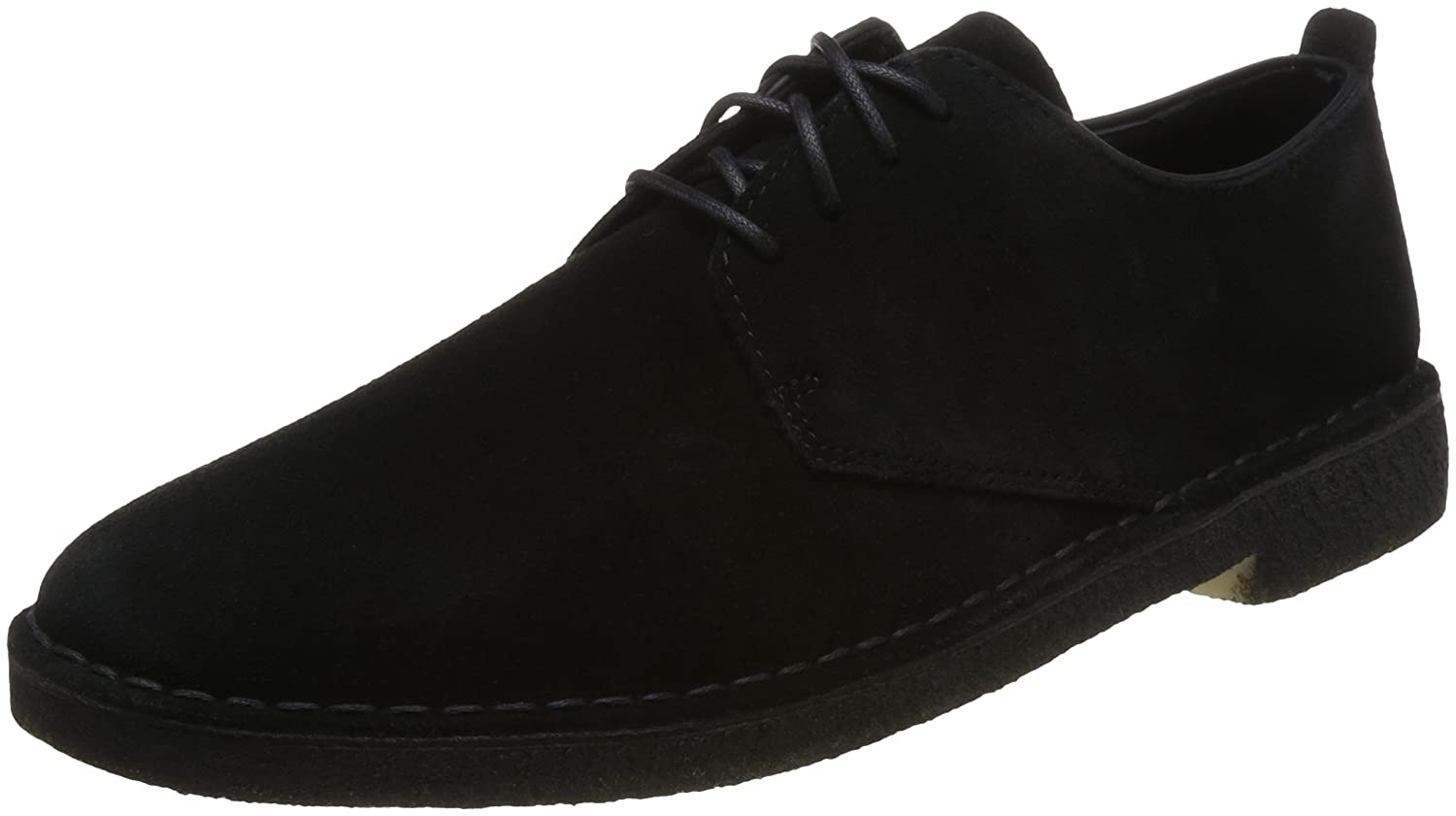 Black Clarks Originals Men's Desert London Derbys
