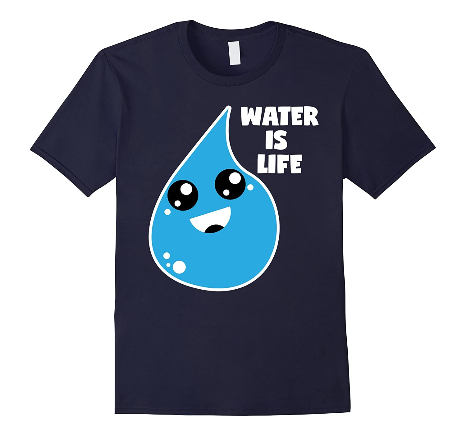 Cute Water Is Life Pipeline Women and Teen Protest Shirt-CL