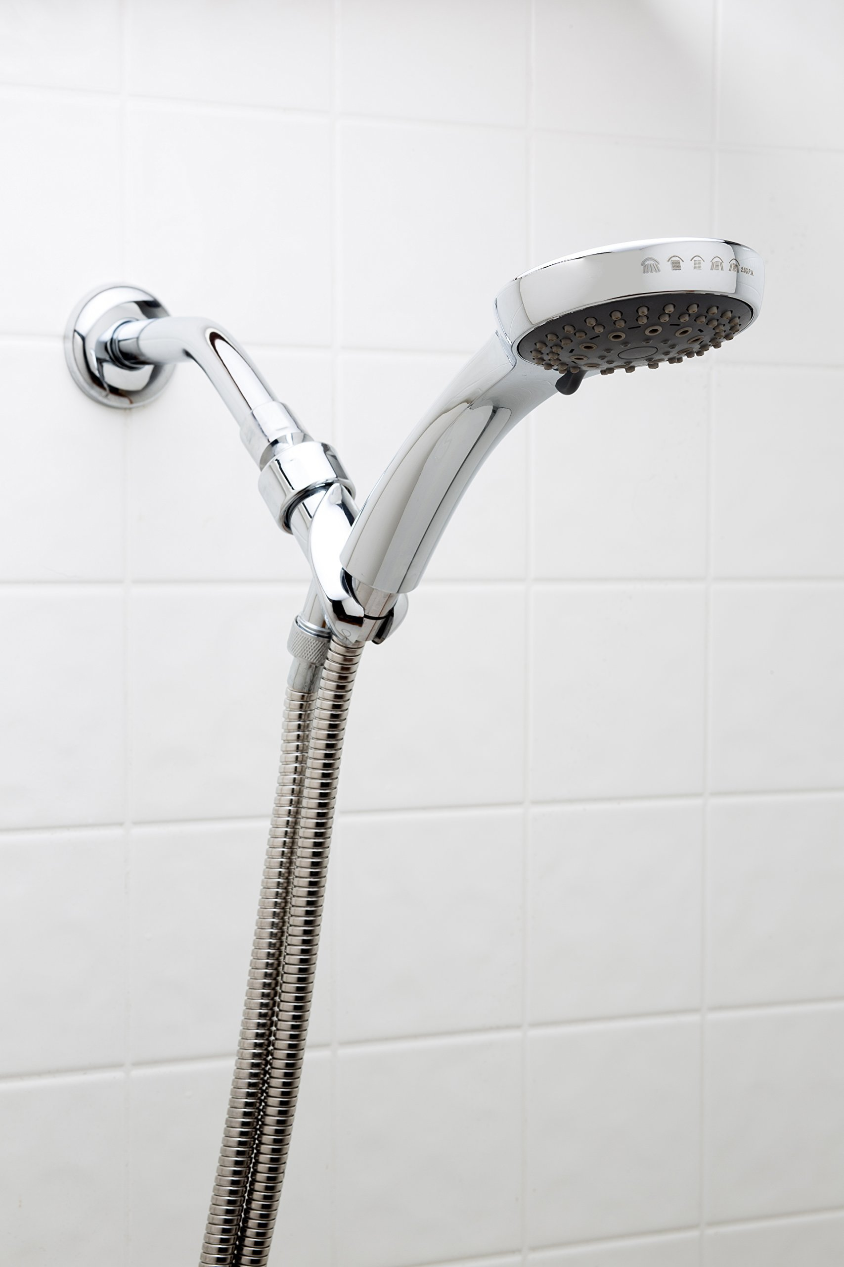 Fire Hydrant Spa Plaza Deluxe Spa Carmel Handheld Shower Head with 78'' Hose