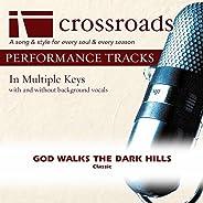 God Walks The Dark Hills (Made Popular By The Happy Goodmans) [Performance Track]