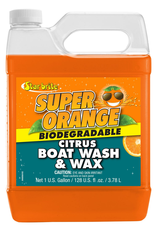 Star brite Super Orange Citrus Boat Wash & Wax - 1 gal